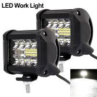 2 Pcs 200W LED LUCE FARO 12V 80V LAMPADA DA LAVORO FARETTO AUTO BARCA CAMION KLW