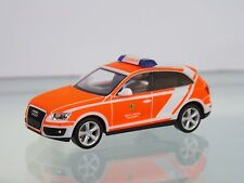 Herpa 092371 1:87 AUDI Q5 Usage Guide Car Fire Service Leipzig
