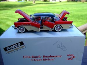 Danbury Mint 1/24th Scale 1956 Buick Riviera--BOX--VERY VERY NICE--