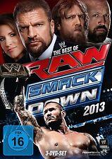WWE The Best Of Raw And Smackdown 2013 3er [DVD] NEU DEUTSCH