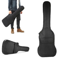 Thick Padded Electric Guitar Gig Bag Double Strap Soft Case Backpack Pocket Use