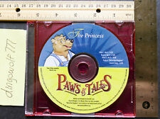 """Paws & Tales Audio CD """"The Princess"""" (2001) - Good Condition"""