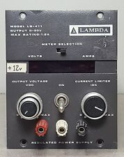 LAMBDA LG-411 POWER SUPPLY REGULATED 0-20V 1.2AMP