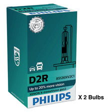 2 x PHILIPS X-TREME VISION D2R 85126XV2C1 Gen2 HID XENON HEADLIGHT BULBS GERMANY