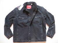 Levi's Engineered Jeans Jacke Gr. M, NEU ! Cord-Kragen, Sherpa Fell gefüttert !