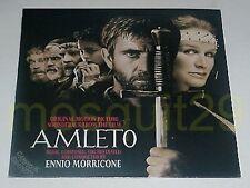 "ENNIO MORRICONE ""AMLETO"" RARE LP OST MADE IN ITALY 1990 - SEALED"