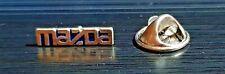Mazda Pin Schriftzug silbern - Maße 16x5mm