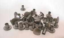 Lot Of 200 Steel Semi Tubular Round Head Rivets 36 Mm 14 X 680 Mm 267