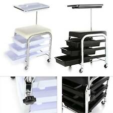 4 Layer Salon Trolley Salon Hairdresse  Trolley Spa Beauty Storage Trolley