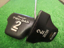 """RIFE 2 TWO BAR MALLET LONG BELLY CENTER SHAFTED PUTTER GOLF CLUB STEEL SHAFT 38"""""""