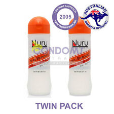 Nuru Gel - Premium Massage Gel - Standard 250mL - NURU Massage - TWIN PACK