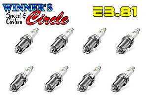 E3 Spark Plugs E3.81 - Set of 8 Spark Plugs