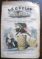 LE GRELOT, M. Bonvalet remis dans son assiette, par Bertall. 30 juillet 1871. n°