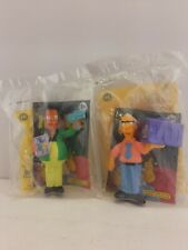 LOT BK Burger King Toys SIMPSONS THE MOVIE 2 as Shown