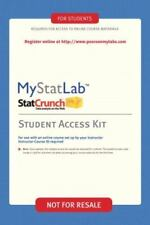 MyStatLab -- Valuepack Access Card by Pearson Brand new never used