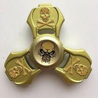 3D CNC Tri Fidget Spinner Focus ADHD Stress Reliever Metal Finger Hands EDC Toys
