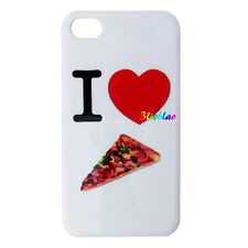 COVER RIGIDA PER APPLE IPHONE 4 4S CUSTODIA PROTEZIONE CASE GUSCIO I LOVE PIZZA