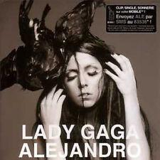 CD Single Lady GAGA Alejandro 3-Track CARD SLEEVE NEW SEALED