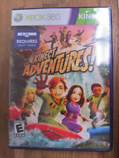 MICROSOFT XBOX X-BOX 360 KINECT ADVENTURES VIDEO GAME COMPLETE FREE SHIPPING