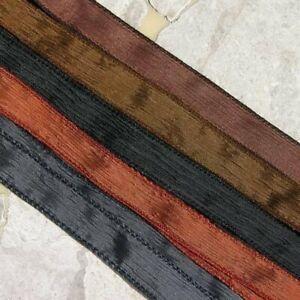 Neutral Crinkle Silk Ribbon Assortment Jewelry Strings 5 Wrap Bracelets Supplies