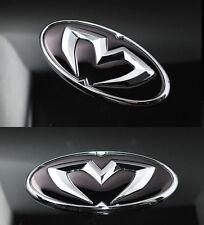 Chrome Edition Emblem Grille,Trunk,Horn For Hyundai Elantra GT i30 2007 2011