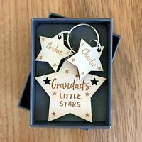 Personalised Fathers Father's Day Gifts For Daddy Grandad Grampy Keyring Gifts