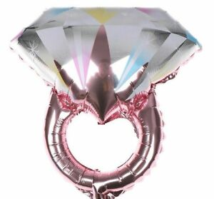 NEWEST DESIGN DIAMOND RING foil balloon BRIDE TO BE wedding engagement decor