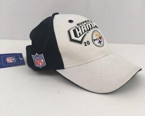 Vintage 2005 Pittsburgh Steelers Reebok Super Bowl XL Champions Hat Cap NWT