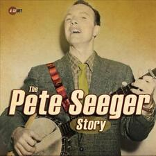 Pete Seeger PETE SEEGER STORY Proper Box Set BEST OF 100 SONGS New Sealed 4 CD