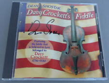Dean Shostak Davy Crockett's Fiddle - CD - **Excellent Condition** SIGNED!