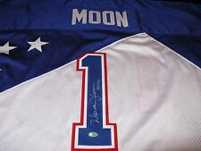 Warren Moon Houston Oilers Pro Bowl Jersey 1995 GTSM Warren Moon Hologram