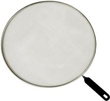 """'Grease Splatter Screen - Fits 11"""" Pans, Grease Catcher, Skillet Protective Cover' from the web at 'https://i.ebayimg.com/thumbs/images/g/TBkAAOSwA29Y4nCo/s-l225.jpg'"""