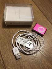 iPod Shuffle 1GB - 2nd Generation (Pink) With Box and Charging Dock
