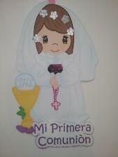 figure offoami girl forfirst communion/ figura de foami para niña