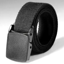 Nylon Canvas Breathable Military Tactical Men Waist Belt With Plastic Buckle NEW
