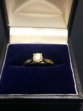 Solitaire Natural Round Fine Diamond Rings