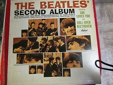 THE BEATLES: SECOND ALBUM-CAPITOL #T 2080 Recorded in England