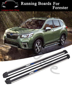 Running Boards fits for Subaru Forester 2019 2020 Side Step Nerf Bars Protector