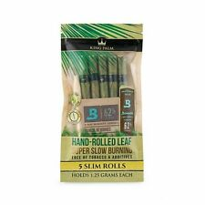 King Palm Pre Rolled Cordia Leaf Slim 1.25g Capacity Pack of 5