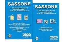 CATALOGO SASSONE SPECIALIZZATO VOLUME 1 e 2  2020 nuovo