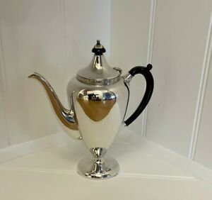 Silver EPNS Coffee Pot - Du Barry by Paramount