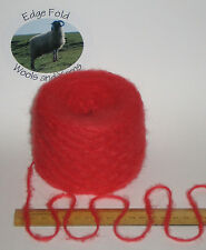100g Coral Orange double knitting - Aran wool yarn dk SOFT fluffy brushed 280m