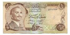 1?2 Half Dinar Jordan banknote ,ND(1975),P-17, Oriental banknote