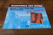 MADONNA - Plan média / Press kit !!! DON'T CRY FOR ME ARGENTINA REMIX !!!