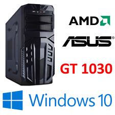 Gamer PC Computer AMD FX 8300 8 x 4,2GHz 8GB 1000GB GT 1030 GAMING WINDOWS 10