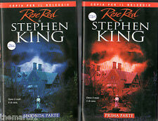 Rose Red - Stephen King (2001) - Doppia VHS Part 1 + 2  ex nolo Stephen KIng