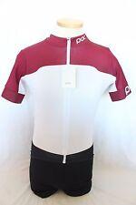 New POC Men Raceday Climber Cycling Bike Jersey XL Red Short Sleeve NWT $150