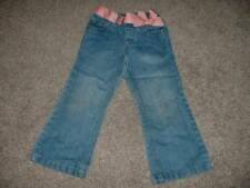Old Navy Toddler Girls Pink Bow Denim Pants Jeans Size 3T 3 Spring Fall Winter