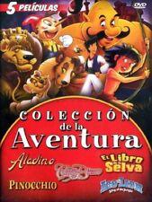 Coleccion de la Aventura (2009, DVD)