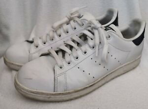 ADIDAS Originals Men's White Stan Smith 011001 Trainers Size UK 9 Used Condition